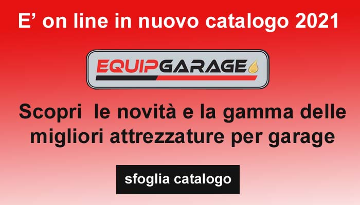 Catalogo attrezzature garage