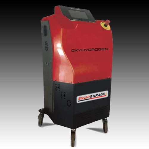 Generatore idrogeno per pulizia motore